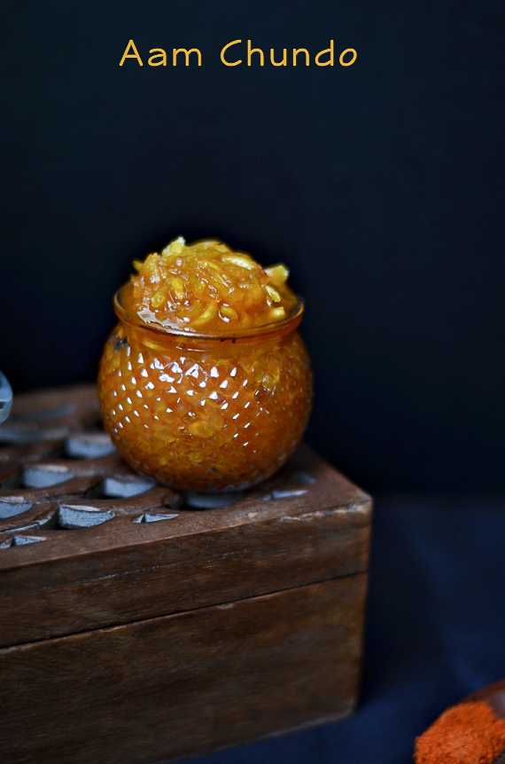 Aam Chundo /Sweet Mango Pickle/Grated Mango Pickle