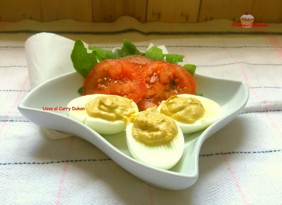 Uova al Curry Dukan ricetta light