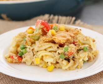 Tuna Pasta Casserole | Easy Family Dinner