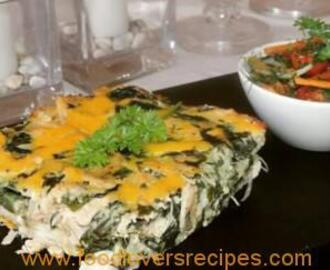 DENZY'S CHICKEN AND SPINACH BAKED PASTA