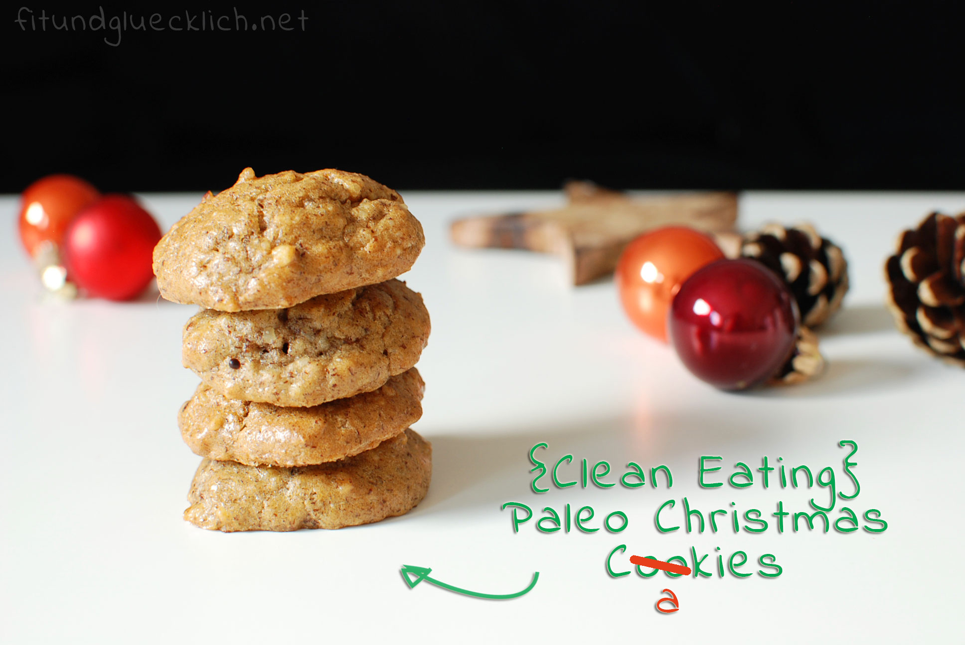 "{Clean Eating} Paleo Weihnachts""kukse"" / Christmas ""Cakies"""