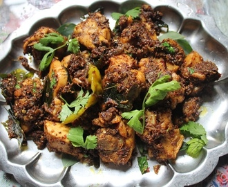 Chettinad Chicken Roast Recipe