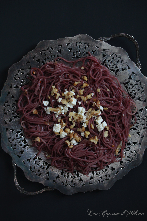 Red Wine Spaghetti - {and a GIVEAWAY}