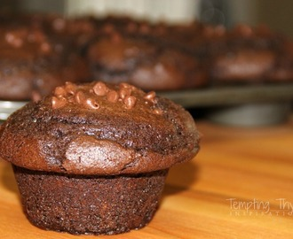 Chocolate Muffins {using a cake mix}