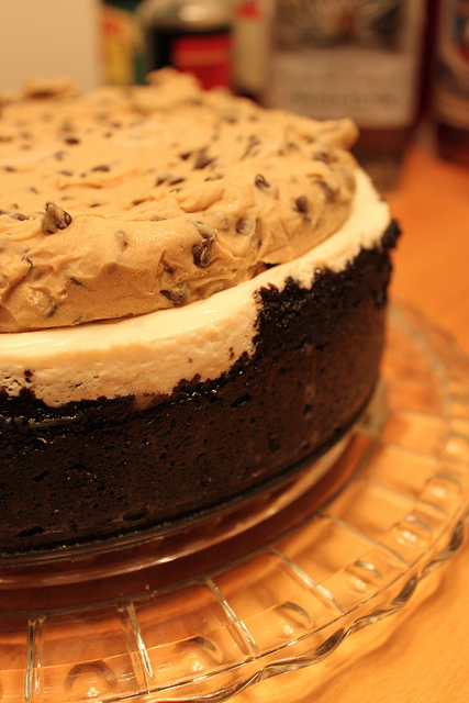 Cookie Dough Cheesecake (Yes, it exists)