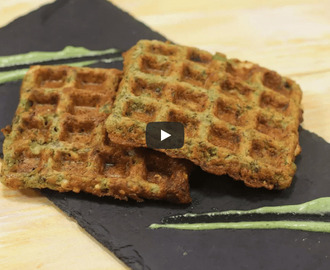 Moong Dal Waffle Recipe Video