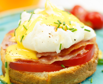 Sunday brunch! Eggs Benedict met supersnelle Hollandaisesaus