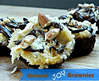 Almond Joy Brownies from Hun Whats for Dinner