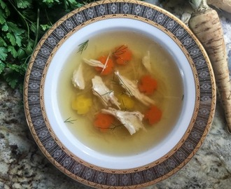 Rosół (Polish Chicken Soup)
