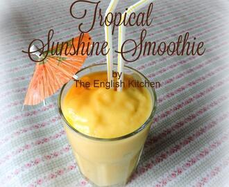 Tropical Sunshine Smoothie and Degustabox for January