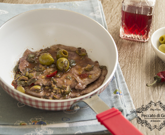 Scaloppine alle olive