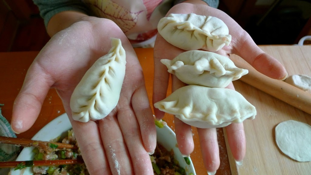 Lychee Dumplings With Pineapple Sauce Recipe #DumplingsWorldwide