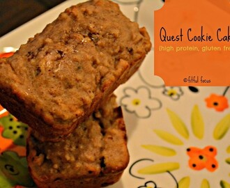 Quest Cookie Cake {high protein, gluten free}