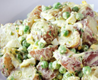 Potato Salad with Peas and Chervil