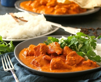 Butter Chicken with Fragrant Rice