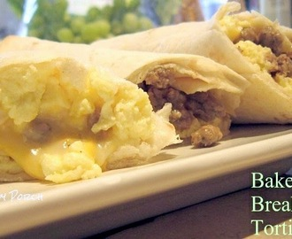 Baked Breakfast Tortillas & Giveaway!