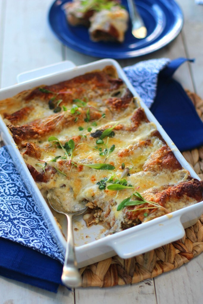 Kate Liquorish wrote a new post, Easy Chicken and Mushroom Bake, on the site Kate Liquorish
