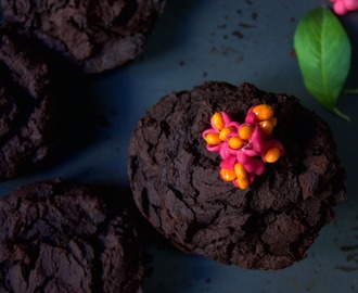 Choklad brownie / Black bean chocolate brownie