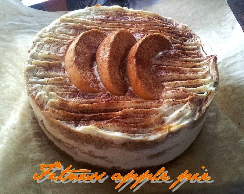 * Fitness apple pie