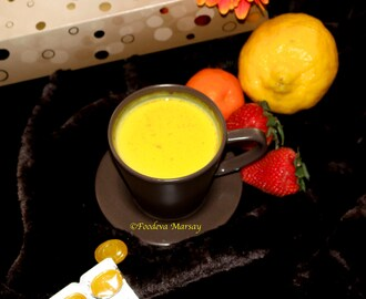 Ginger and Turmeric Milk