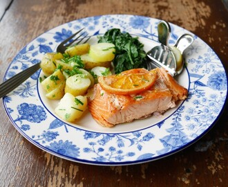 Don't wait for Fishy Friday! Hot Smoked Salmon