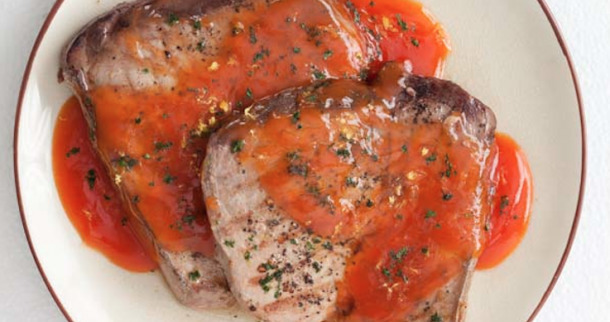 Restaurant Style Grilled Tuna Steaks Recipe