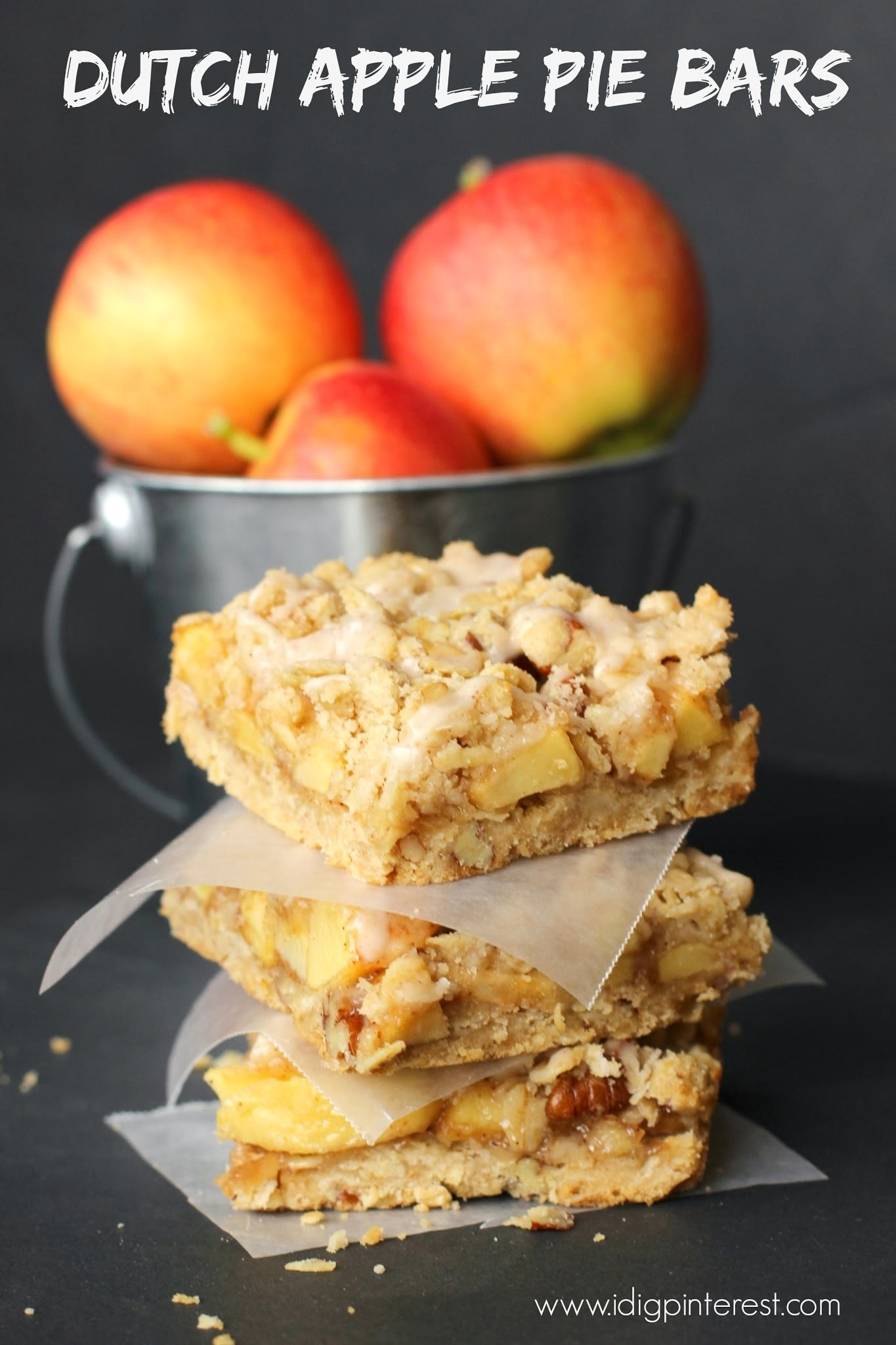 Dutch Apple Pie Bars