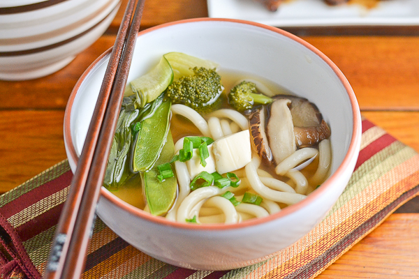 Vegetable Udon Soup