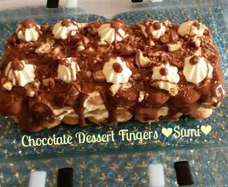 Chocolate Dessert Fingers