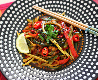 Pad Thai Vegetables - Verdure alla thailandese