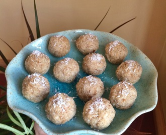 Raw Figgy Coco-Peanut Buckwheat Bliss Balls
