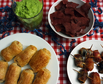 Fingerfood & Snacks für Partys