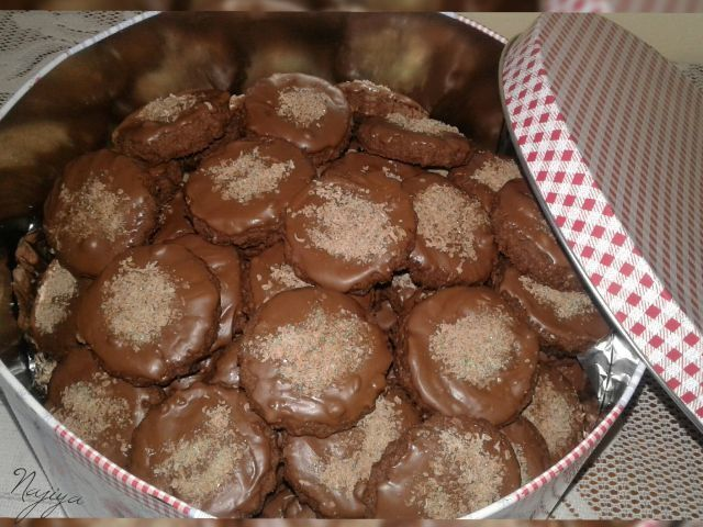 Peppermint biscuits
