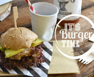 Veggi-Burger im Buttermilch Bun - It's Buger Time!