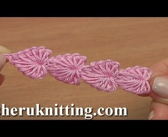 Crochet Mini Hearts String Tutorial 112