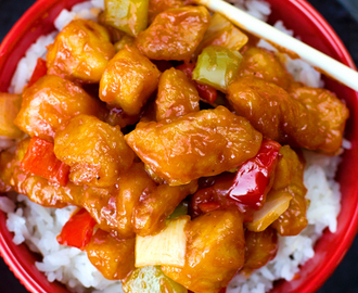 Better Than Takeout Sweet and Sour Chicken