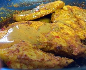 Masala Fillet / my recipe