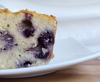 Blueberry Coconut Flour Banana Bread