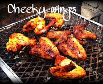 Cheeky Honey Bbq Wings