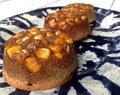 Blue Corn and Lime Financiers with a Caramelized Corn Topping (GF)