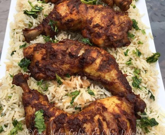Masala Chicken & Dhanya Rice
