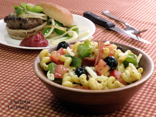 Pizza Pasta Salad #SundaySupper