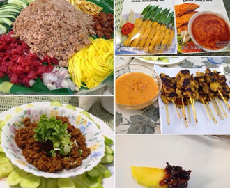 Ingredients from Bangkok