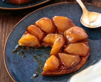 Apple Tarte Tatin for two