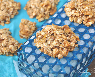Banana Bread Oat Cookies
