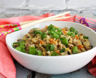 Japanese Fried Cauliflower Rice