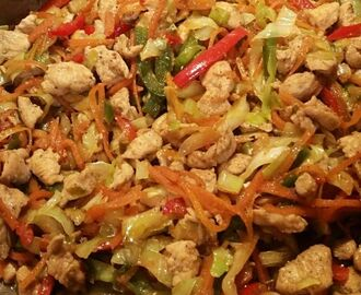 Chicken Chowmein - my recipe ( for about 4 to 5 people )