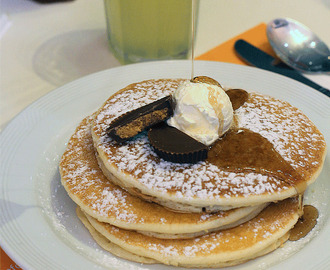 Pancake house spaghetti recipes mytaste peanut butter cup pancakes from pancake house ccuart Gallery