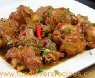 STEWED TURKEY WINGS