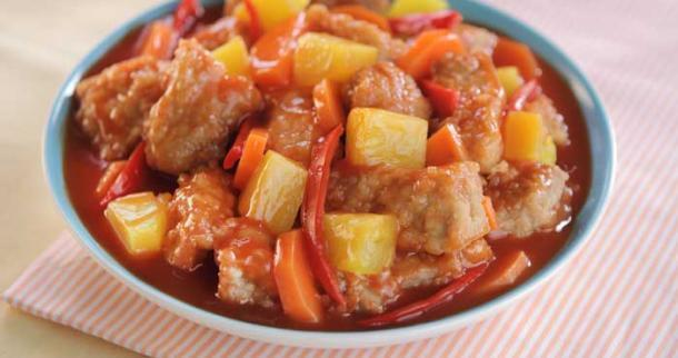 Saucy Pork and Pineapple